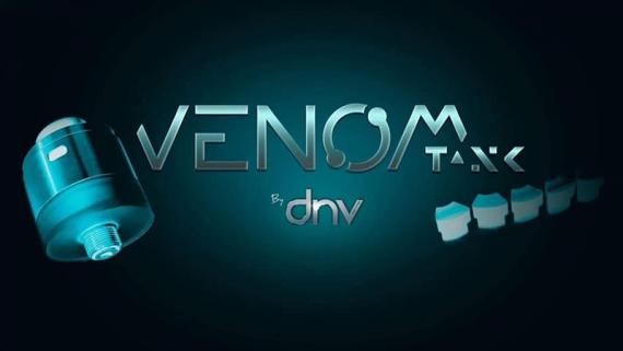 Venom-Tank RDTA - неплохой бак со съемными редюсерами от компании Drip'n Vap