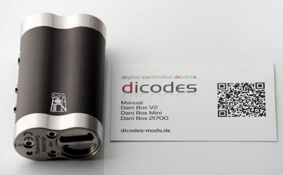 Теперь и в формате 21 700. Известный мод Dani от компании Dicodes