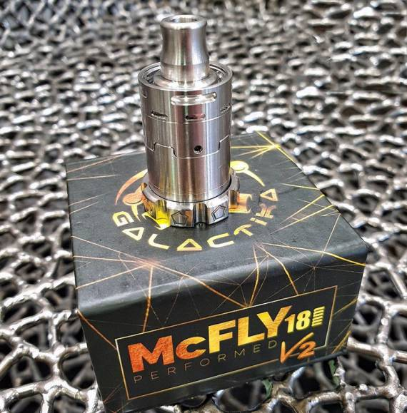 McFly 18mm V2 от компании Galactika Mod. То, что нужно для вкуса!