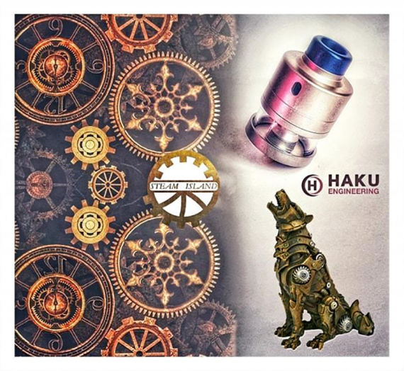 From the guys who know their job.  Great Riviera RDTA Tank by Haku Engineering
