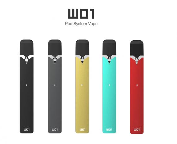 W01 Vape Pod - типичный представитель своего класса от компании OVNS