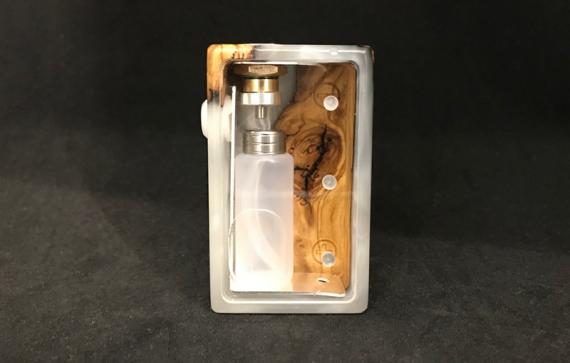 Гибридный сквонкер из дерева и акрила (PAF Mod BF Squonker)