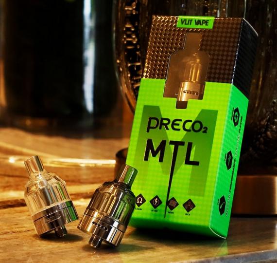 Добавили немного железа, хоть приближенно стал похож на атмоайзер (Preco 2 MTL by Vlit Vape)