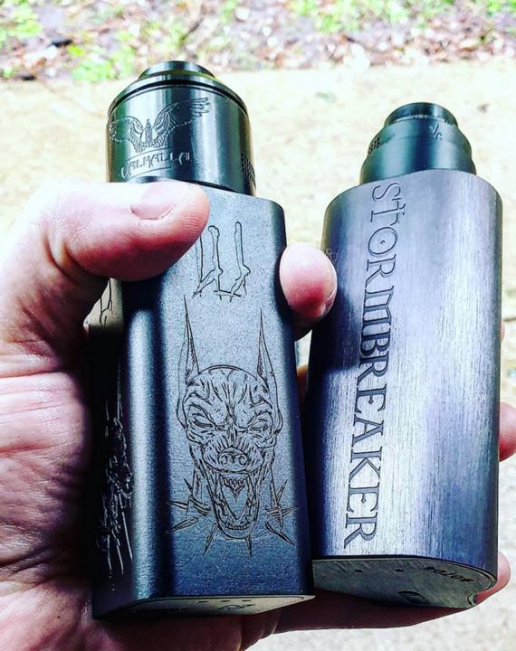 Проект двух гигантов. Hellhound Hammer of God от компаний Vaperz Cloud и Deathwish Modz