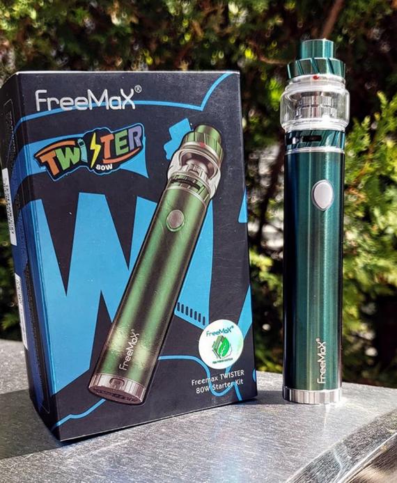 Разумное решение маркетологов компании Freemax, явно повысит уровень продаж (Twister Metal Edition)