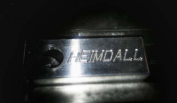 И снова мод из-под станка ручной работы. Heimdall от компании ST Mod
