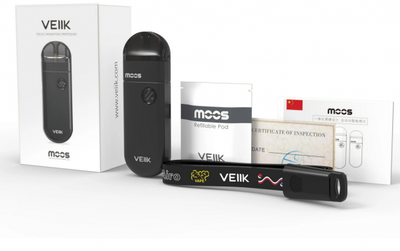 VEIIK Moos Vape Pod Kit Review