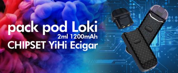 Теперь ему название Loki + новые расцветки Pod устройства на плате YIHI