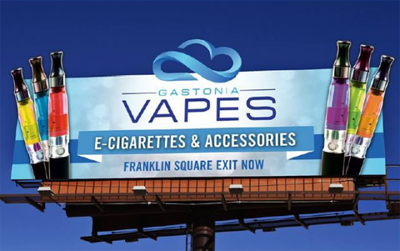 New research.  And again, youth, vaping and the impact of e / s advertising