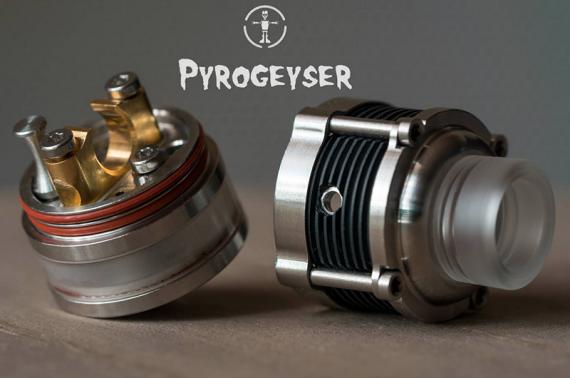 Pyrogeyser от компании NoName Mods. Весьма так интересно закрутили