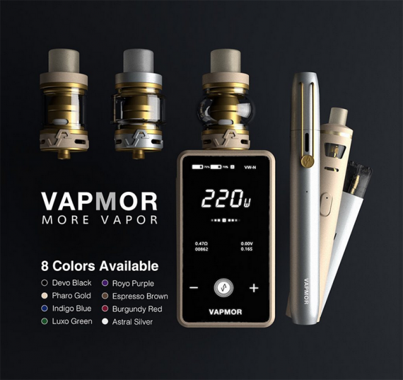 Вот, уже немного лучше с дизайном, да и по характеристикам норм. Mirror Kit от компании Vapmor