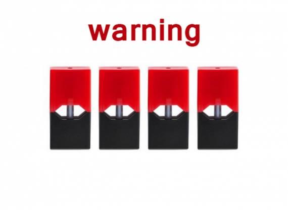 CDC предупреждает, что солевой никотин, обнаруженный в картриджах Juul, вызывает привыкание