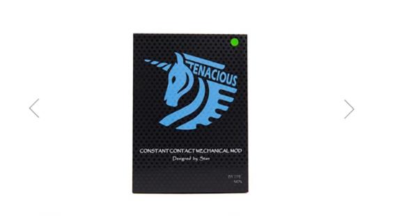 Tenacious Mech Mod от компании Unicorn Vapes Inc. Все необычное в простом