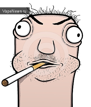 Обычные сигареты оказались в 10 раз безопаснее электронных сигарет