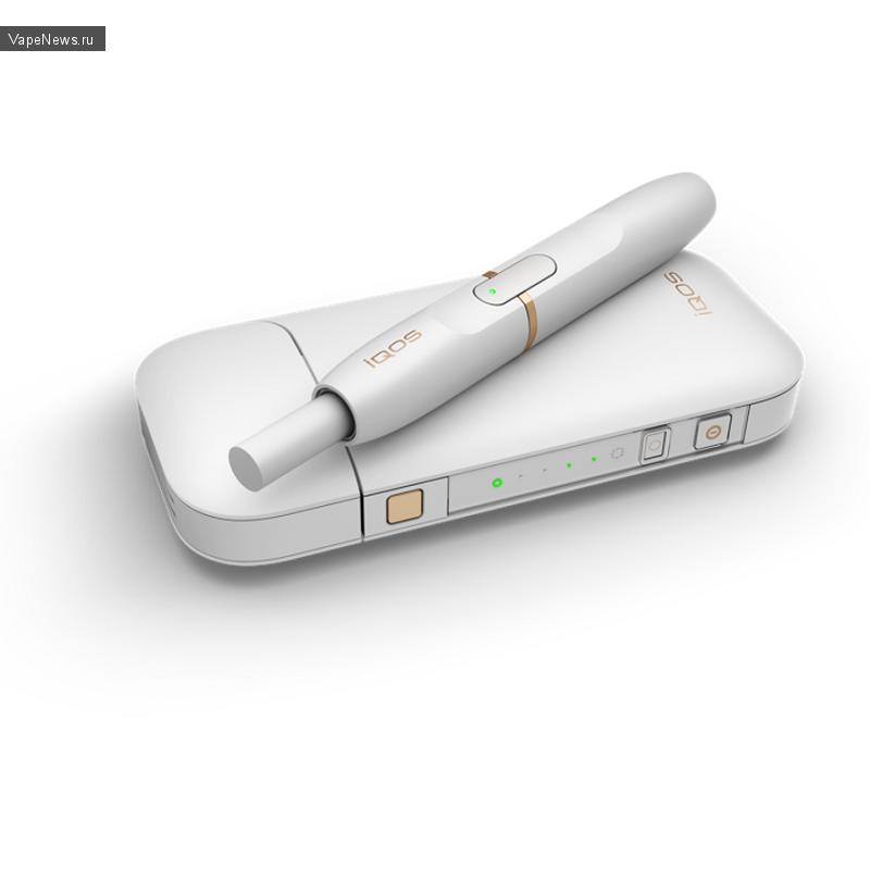 Электронная сигарета с капсулами