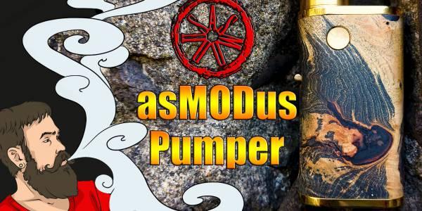 Vape обзор №244. asMODus Pumper 21 mod Что нужно знать перед покупкой ?!